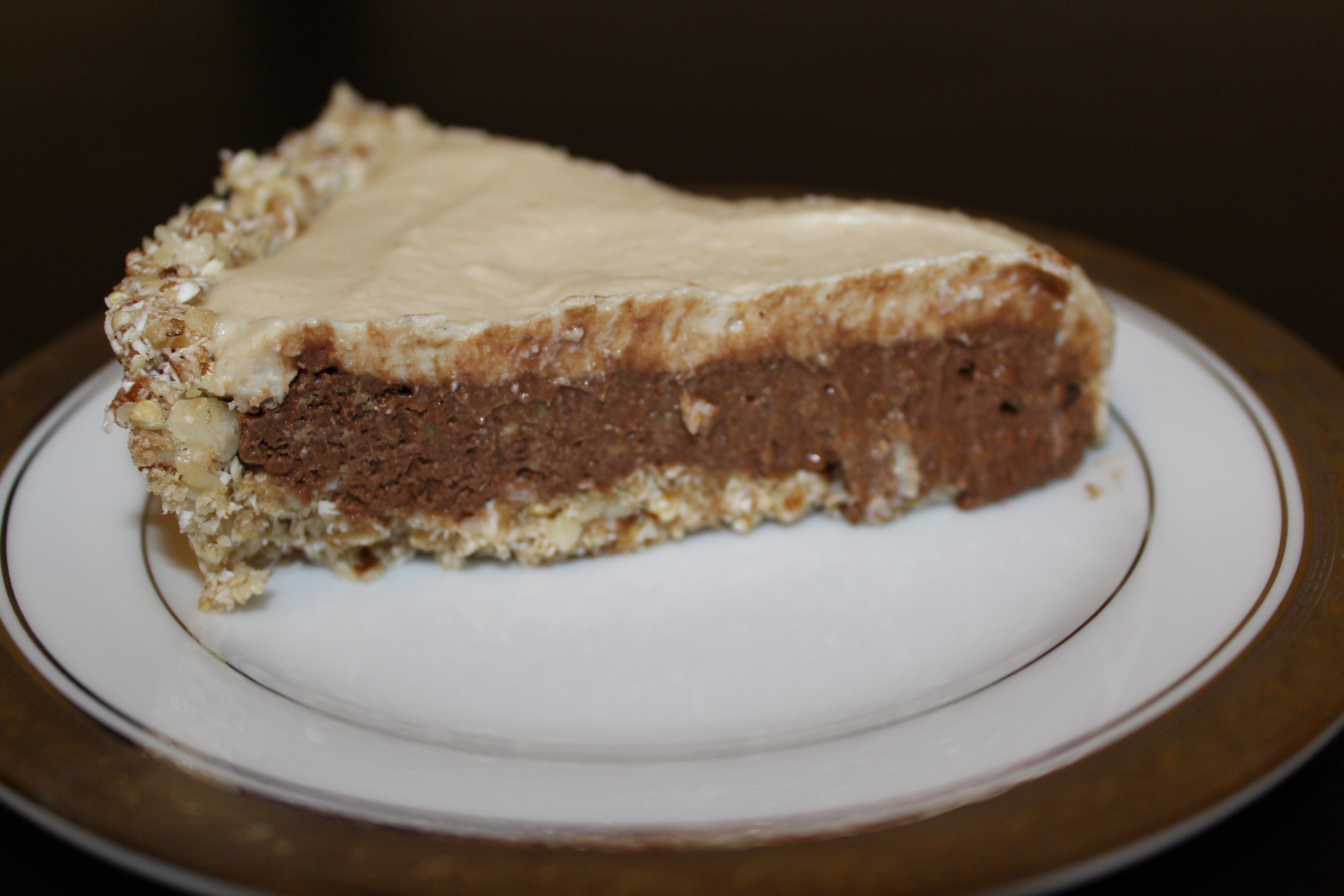 Chocolate Mousse Pie (Raw, Vegan) | Rawfully Clean